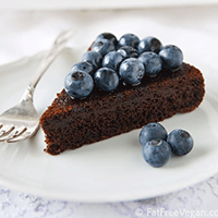 Blueberry-chocolate-cake